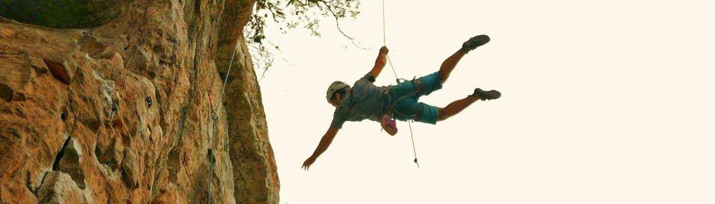 Caídas en escalada